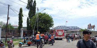 Kantor Stasiun PT KAI di Lahat Terbakar, Kasat Linmas Pol PP dan Damkar Lahat Ungkap Hal Ini