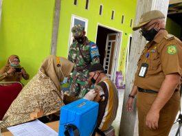Kejar Target Vaksinasi, Kecamatan Medan Marelan Lakukan Vaksinasi Keliling