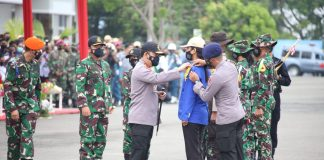 Panglima TNI dan Kapolri Buka Latsitarda di Medan, 802 Taruna dari Berbagai Matra Ikut Pelatihan