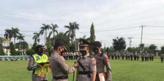 Putra Pertama PJ Sekda OI IPTU Iklil Alanuari Dilantik Jadi Kapolsek Pemulutan