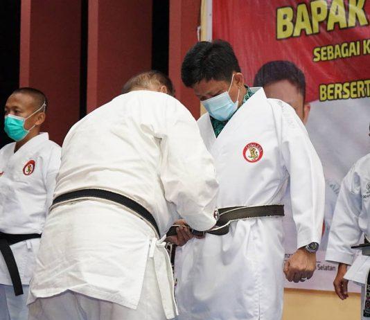 Pimpin Lemkari Sumsel, Lanosin Siap Bawa Atlet Karate Jadi Juara