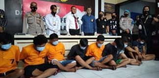 Satres Narkoba Polres Lahat Gulung 10 Anggota Jaringan Pengedar Sabu, 2 di Antaranya Pasutri