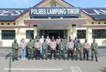 Bangun Sinergitas TNI-POLRI, Kodim 0429/Lamtim dan Polres Lamtim Gelar 'Coffe Morning'