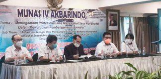 Munas IV Akbarindo Bahas Persiapan Akreditasi dan Pembentukan Lembaga Sertifikasi Badan Usaha
