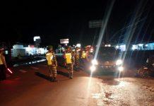 Jaga Stabilitas Harkamtibmas, TNI-Polri Lakukan Patroli Bersama di Wilayah Lam-Tim