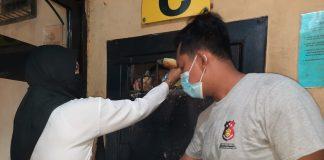 Bentuk Kepedulian Polri, Polsek Medan Helvetia Beri Asupan Makanan Tambahan Untuk Para Tahanan