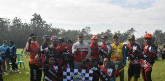 Dayung Sepeda Sepanjang 16 KM Bersama Komunitas Gowes, Wabup Azwar Hadi Ajak Masyarakat Fokus Bangun Lam-Tim