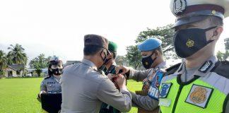 Apel Gelar Pasukan OPS Keselamatan Krakatau 2021, Waka Polres Lam-Tim Imbau Masyarakat Puasa dan Sahur di Rumah Putus Penyebaran Covid-19