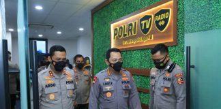 Launching Polri TV-Radio, Kapolri: Beri Edukasi Informasi Pada Masyarakat Terkait dengan Pelayanan Kepolisian