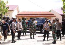 Kapolda Sumut dan Pangdam I/BB Cek Pelaksanaan PSU di Kabupaten Labusel