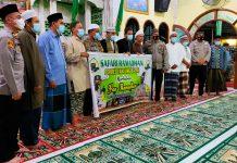 Lakukan Safari Ramadan, Polres Tanjung Balai Tingkatkan Pendisiplinan Prokes Jemaah Masjid