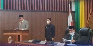 Buka Sidang LKPJ 2020, Ali Husin Ungkap Penyebab Tutupnya Gedung DPRK Gayo Lues! Ternyata…