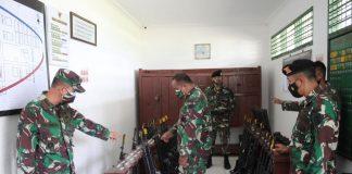Staf Latihan TNI AD Cek Sarpraslat Batalyon Kavaleri 5/DPC Karang Endah, Ini Penjelasan Danyonkav 5/DPC
