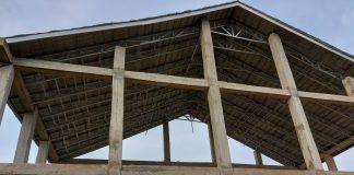 Terbengkalai, Pembangunan Gedung Serba Guna Desa Tapus 2019 Lalu Mulai Ditangani Penyidik Kejari Muara Enim