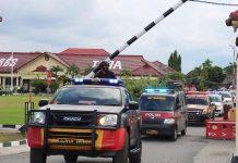 Polres Tulang Bawang Gelar Patroli Gabungan Skala Besar pada Peringatan May Day