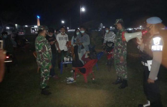 Minimalisir Penyebaran Covid-19, Gabungan TNI-Polri di Lampung Timur Laksanakan Operasi Yustisi