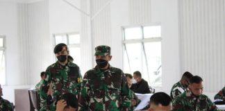 Puluhan Prajurit Yonkav 5/DPC Karang Endah Ikuti Seleksi Litpers