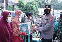 Kapolda Sumsel dan Pangdam II Sriwijaya Tinjau Kesiapan Posko PPKM di IT I dan IB I
