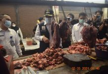 Pantau Harga dan Kesediaan Bahan Pokok, Bupati Lahat Imbau Pedagang Taati Prokes