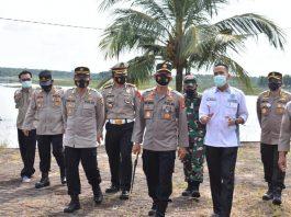 Kapolda Sumsel Puji Pospam, Posyan dan Pos Penyekatan Polres OKI