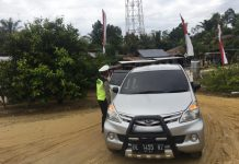 Hari Pertama Diberlakukan Larangan Mudik di Aceh Singkil, 3 Unit Kendaraan Dipaksa Putar Balik