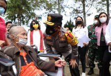 Pulang Kampung, Kapolda Sumut Minta Kapolres Jaga Kabupaten Toba