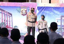 Polda Sumsel Lakukan Pergeseran Personel Polda Sumsel BKO Polrestabes Palembang, Antisipasi Keamanan dan Kerumunan Massa di Kota Palembang