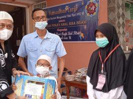 Berprestasi, 75 Anak Yatim Terima Beasiswa dari Yayasan PABI Palembang
