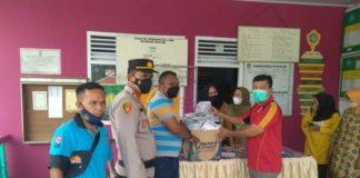 Sosialisasi dan Bagikan Masker ke Warga, Kecamatan Prabumulih Timur Libatkan Kelurahan