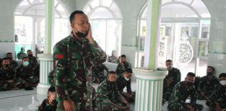 Bina Mental Prajurit di Bulan Ramadan, Yonkav 5/DPC Karang Endah Gelar Lomba Azan