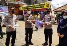 Cek Posko Penyekatan, Kapolda Sumsel: Jangan Sampai Terjadi Seperti di India…