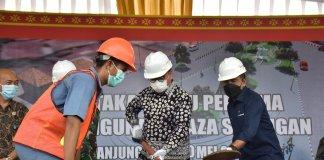 PTBA Ubah Wajah Eks Pasar Buah Bantingan Jadi Plaza Saringan, Wujudkan Muara Enim Kota Tujuan Wisata