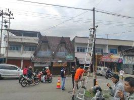 Polres Pagaralam Pasang Kamera Pengintai di lokasi Rawan Kejahatan