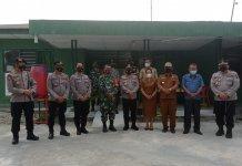 Sinergitas TNI-Polri, Kapolda Sumut Datangi Koramil Garoga Taput