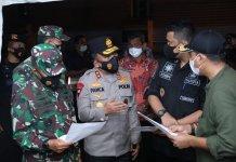 2 Lingkungan di Kota Medan Terpapar Covid-19, Polisi Tutup Akses Jalan Keluar Masuk