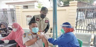 Keroyok Covid-19, Gayo Lues Lakukan Vaksinasi Massal