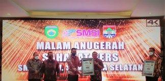 Medco E&P Terima Penghargaan Sahabat Pers dari SMSI
