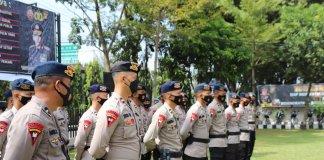 Polda Sumsel Terjunkan 46 Personel Kroyok Zona Merah di Muara Enim