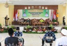 Bupati Lampung Timur Kukuhkan FKUB Periode 2021-2025