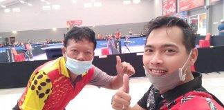 Kejurda Tenis Meja Gubernur Cup, PTMSI Kota Lubuklinggau Kirim 2 Atlet