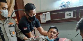 Keroyok Zona Merah Covid 19 di Muara Enim, 2 Personel Polda Sumsel Alami Kecelakaan Tunggal
