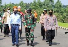 Terkonfirmasi Covid-19 Paling Tinggi di Jawa Tengah, Panglima TNI, Kapolri dan Kepala BNPB Kunjungi Kudus