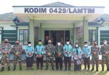 MUI Lampung Timur Ajak Kodim 0429/Lamtim Tertibkan Ajaran Menyimpang