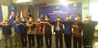 Gubernur Sumsel Apresiasi Kehadiran Ridho Yahya di Rakorda DPD Partai Nasdem Kota Prabumulih