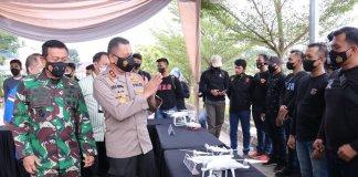 Atasi Karhutla, Polda Sumsel Ajak TNI dan Stakeholder Gunakan Songket