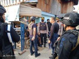 "Ratusan Personel Gabungan Polres Muratara – Batalyon B Pelopor ""Kepung"" Sarang Narkoba, dan Premanisme di Desa Surulangun"
