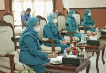 Mendagri Hadiri Pelantikan Pengurus Tim TP PKK Pusat Sisa Masa Bakti 2020-2024