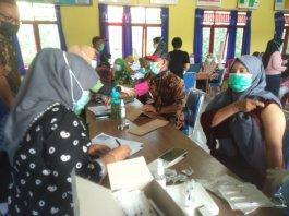 Tingkatkan Kekebalan Imun Tubuh Warga, Desa Tambangan Kelekar Gelar Vaksinasi Massal Gratis