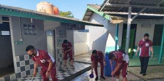 "Sambut HUT Bhayangkara ke 75, Polres OKU Terjunkan Ratusan Personel ""Serbu"" Masjid dan Gereja"