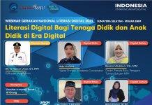 Kemenkominfo Gelar Webinar Literasi Digital Bagi Tenaga Pendidik dan Anak Didik di Muara Enim